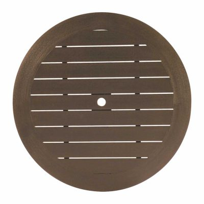 "Resysta 50"" Round Table Top (HOLE)"