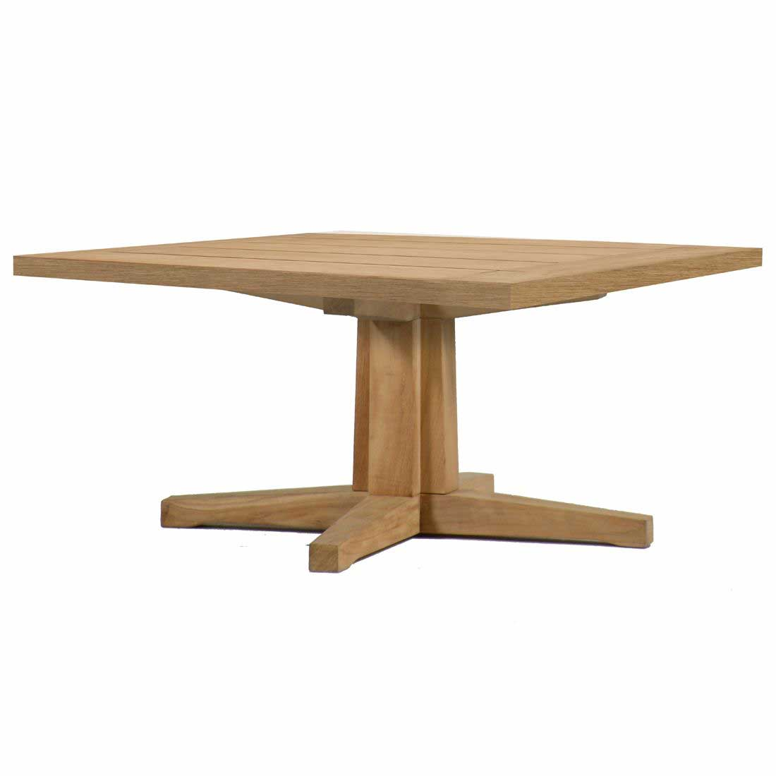 Club Teak Pedestal Coffee Table Base