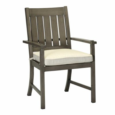 Croquet Aluminum Arm Chair