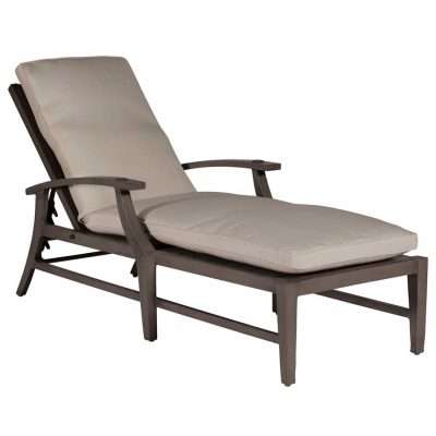 Croquet Aluminum Chaise Lounge