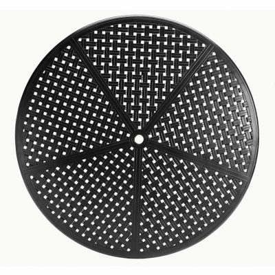 "Double Lattice 60"" Round Table Top (HOLE)"