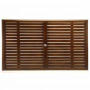"Slatted 74"" x 43"" Rectangular Table Top (HOLE)"
