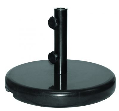 Ebony Granite Umbrella Base