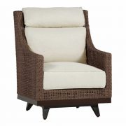 Peninsula Speaker Swivel Lounge Chair