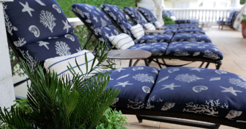 Ponte Vedra Pool Chaise Lounges
