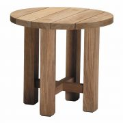 Croquet Teak End Table