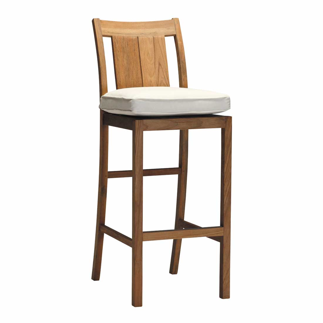30 Croquet Teak Bar Stool Summer Classics Contract