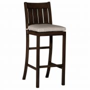 "30"" Club Aluminum Bar Stool"