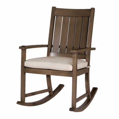 Club Aluminum Slatted Rocker