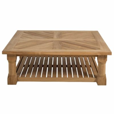 "Lakeshore 48"" Square Coffee Table"