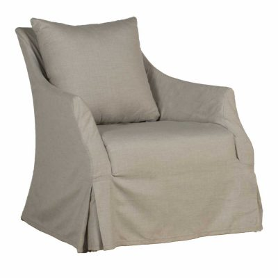 Baldwin Upholstered Swivel Glider
