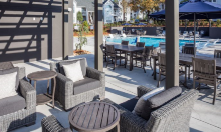 Poolside Property Tour with Hunt Club by Cortland Partners